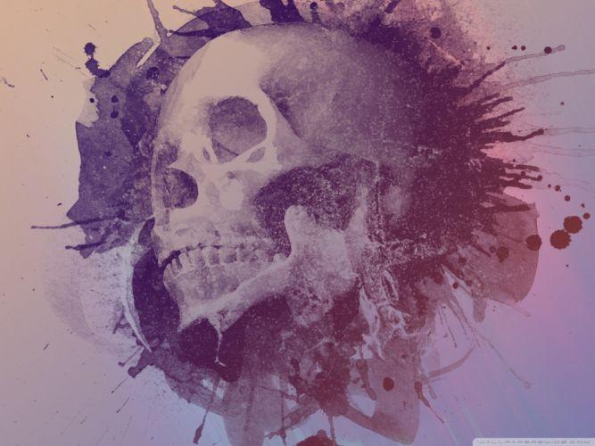 skulls design artwork wallpaper