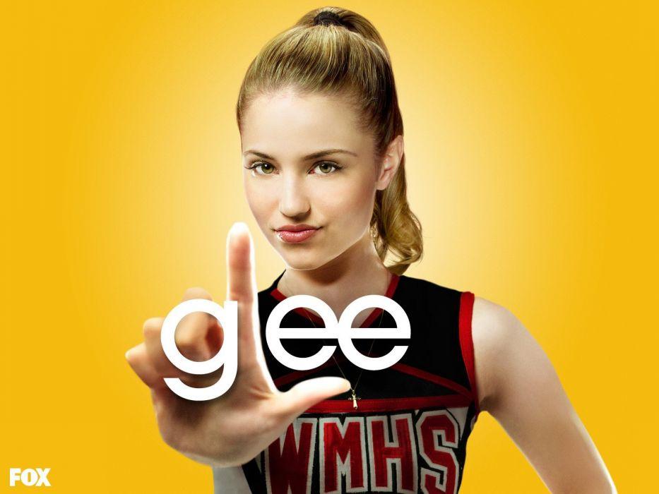 Glee Dianna Agron wallpaper