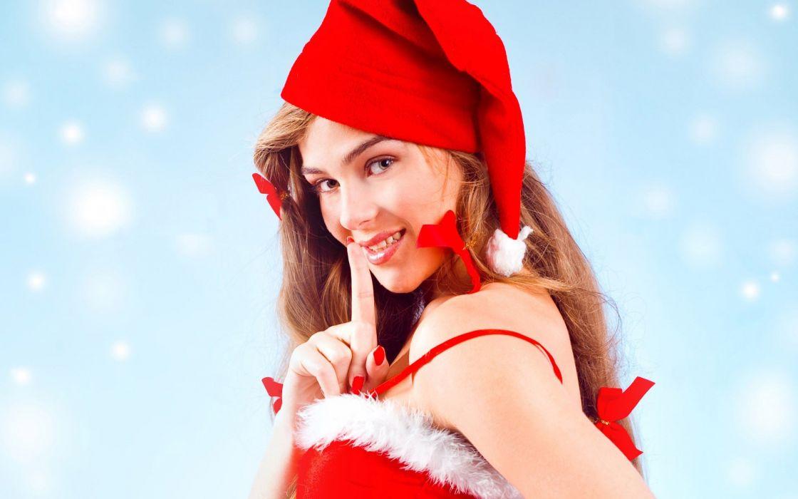 Christmas Noel Santa outfit wallpaper