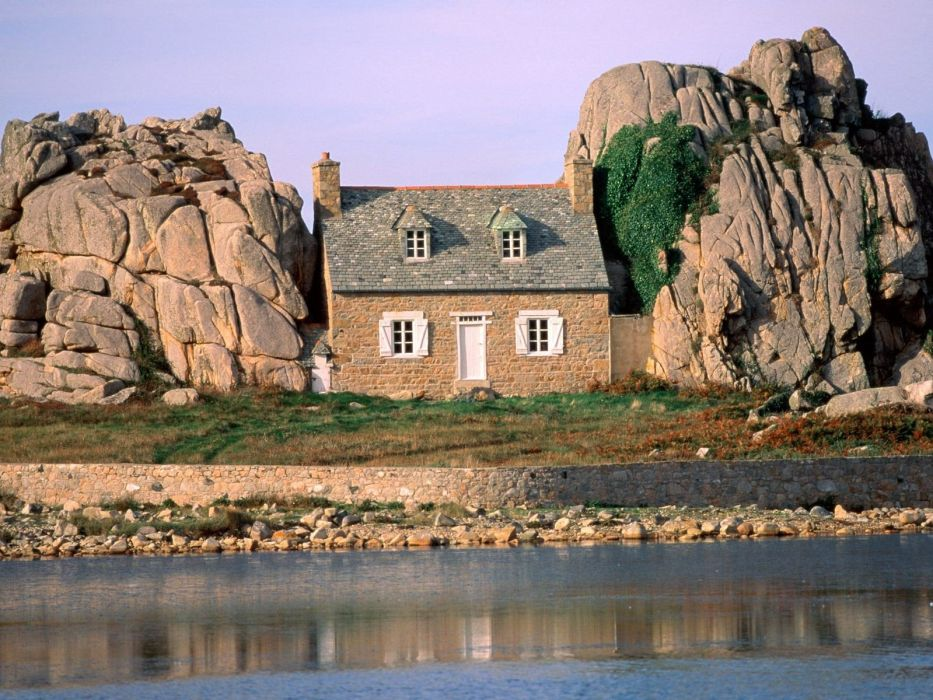 nature France Brittany wallpaper