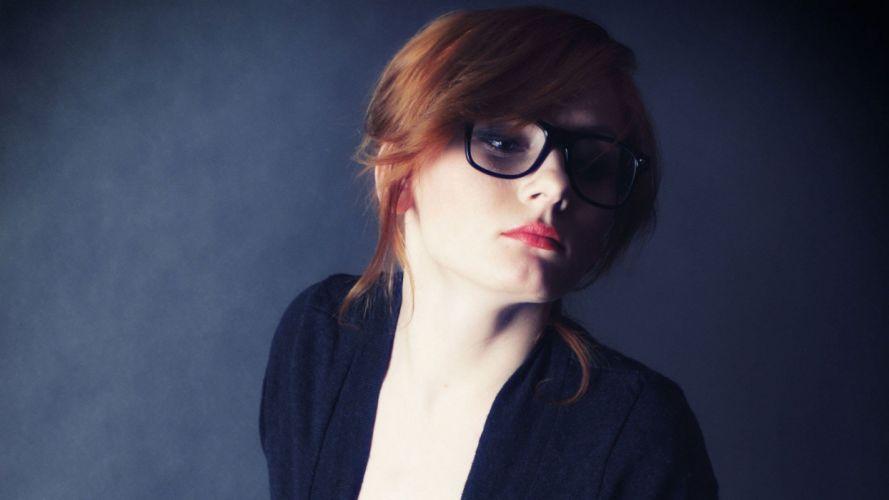 women glasses wallpaper