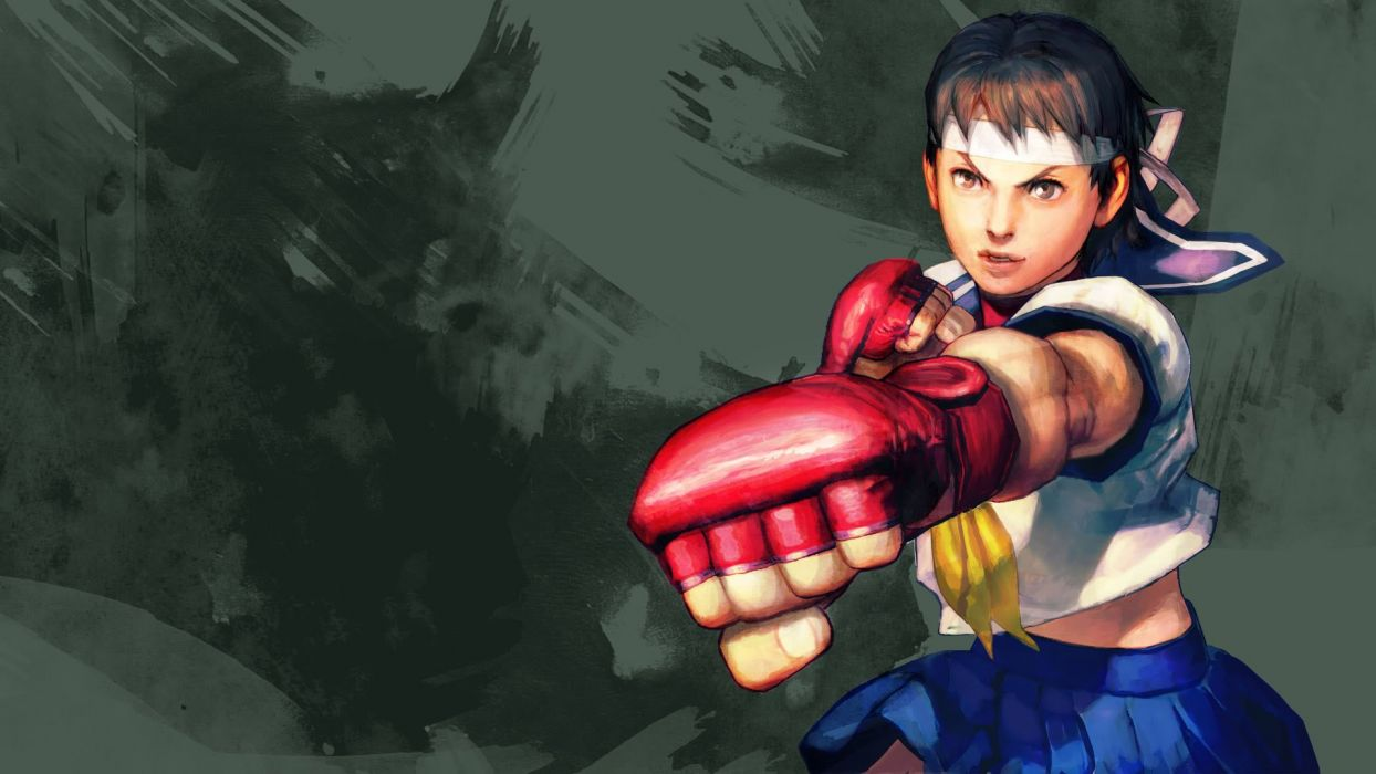 Video Games Sakura Street Fighter Iv Wallpaper 1920x1080 258429