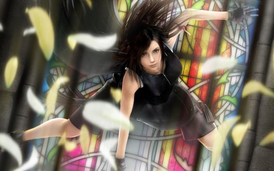 video games Final Fantasy VII Advent Children Tifa Lockheart wallpaper