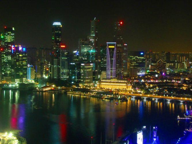 cityscapes Singapore jun wallpaper
