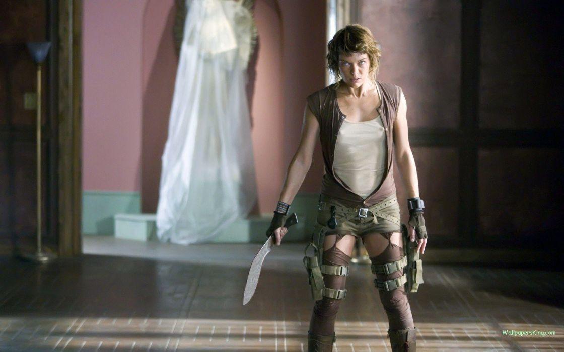 Resident Evil Alice Milla Jovovich Resident Evil: Extinction wallpaper