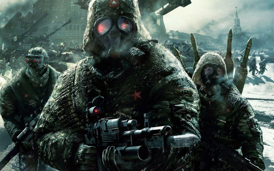soldiers video games Tom clancy's EndWar wallpaper