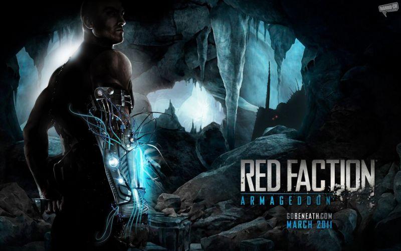 video games Red Faction armageddon wallpaper