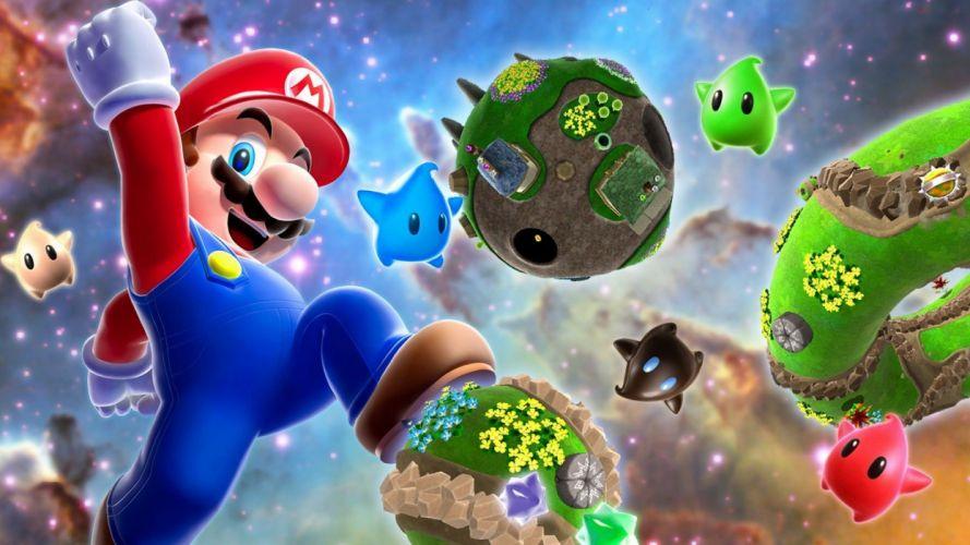Super Mario Super Mario Galaxy Mario Galaxy wallpaper