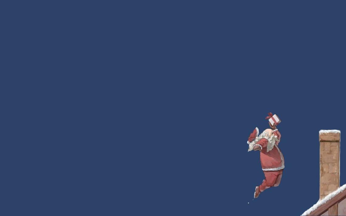 funny christmas santa claus basketball wallpaper 1680x1050