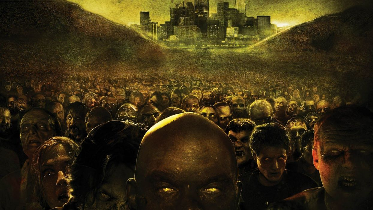 zombies Land Of The Dead wallpaper