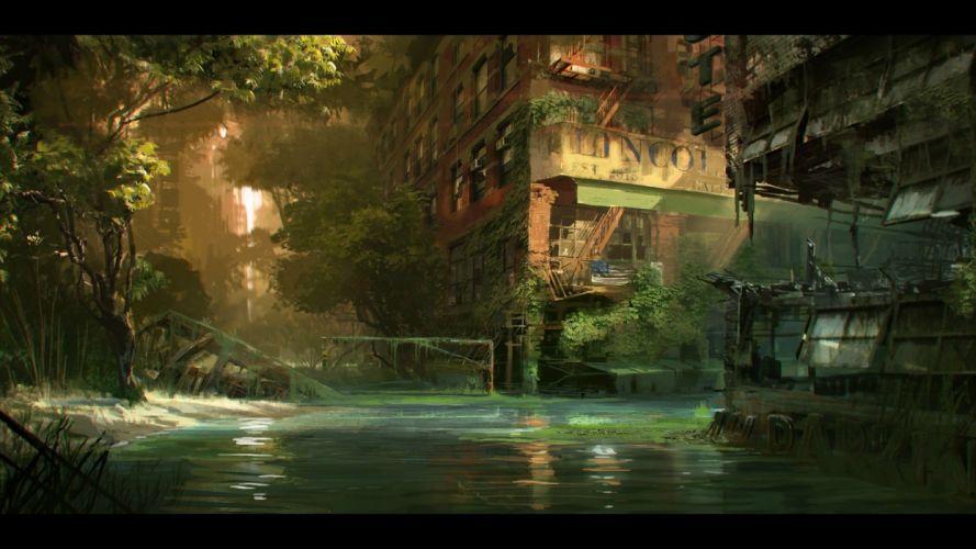 video games Crysis science fiction artwork Crysis 3 wallpaper