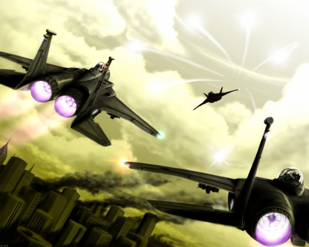 Ace Combat F-15 Eagle wallpaper