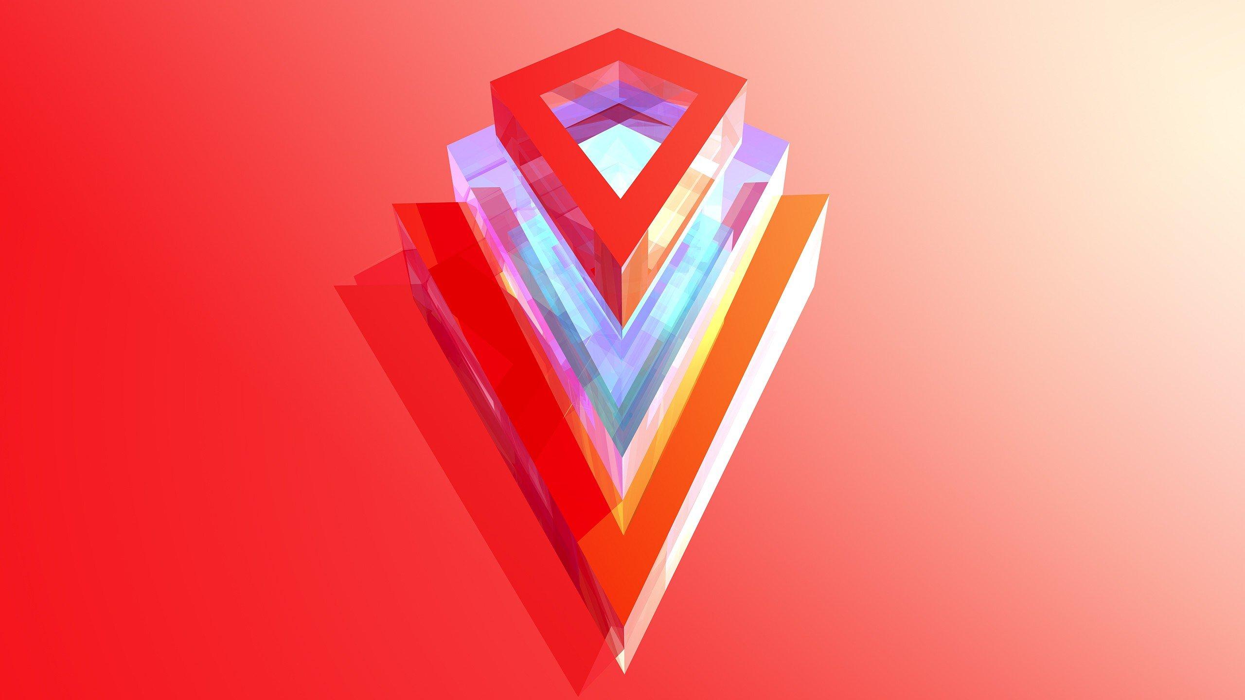 Abstract vectors digital art Justin Maller wallpaper | 2560x1440 | 258735 | WallpaperUP