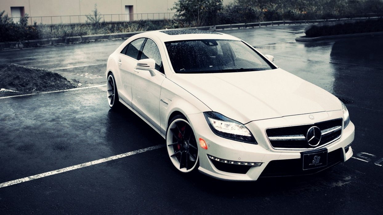 cars AMG vehicles Mercedes-Benz CLS Mercedes Benz CLS 63 AMG automobile sr auto corporation wallpaper