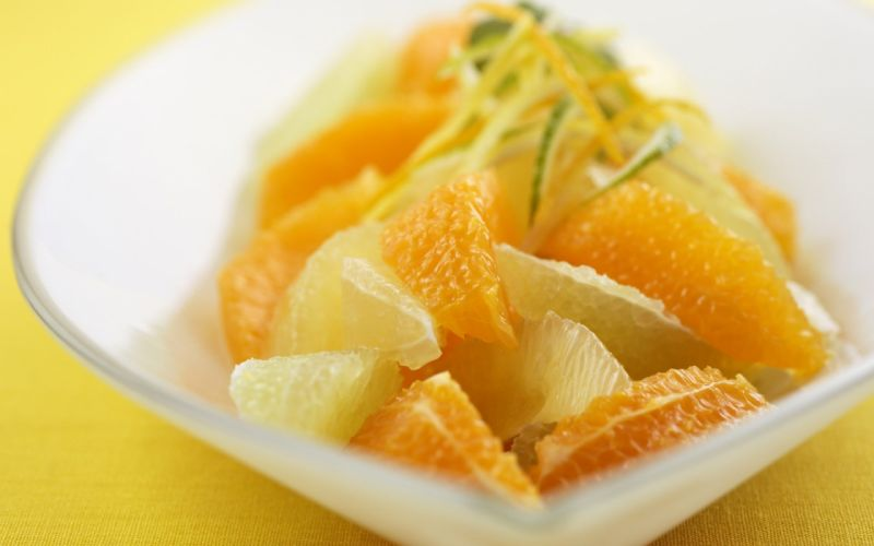 fruits oranges lemons wallpaper