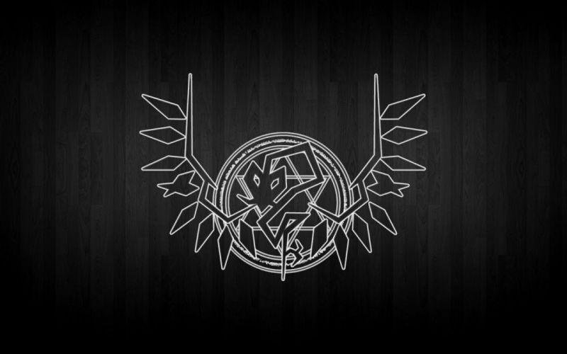 Touhou wings dark weapons spears logos Flandre Scarlet Laevateinn wallpaper