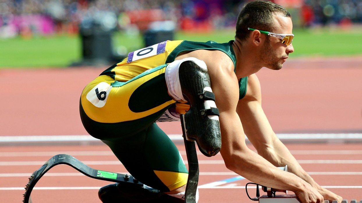 men sunglasses inspirational athletes disabled South African races prosthetic murderer Olympics 2012 Oscar Pistorius wallpaper