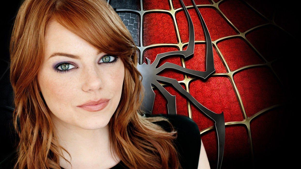 movies Emma Stone The Amazing Spider-man wallpaper