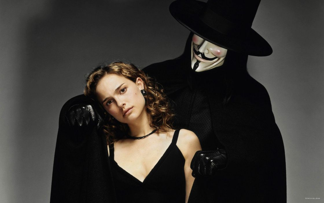 movies actress Natalie Portman V for Vendetta wallpaper