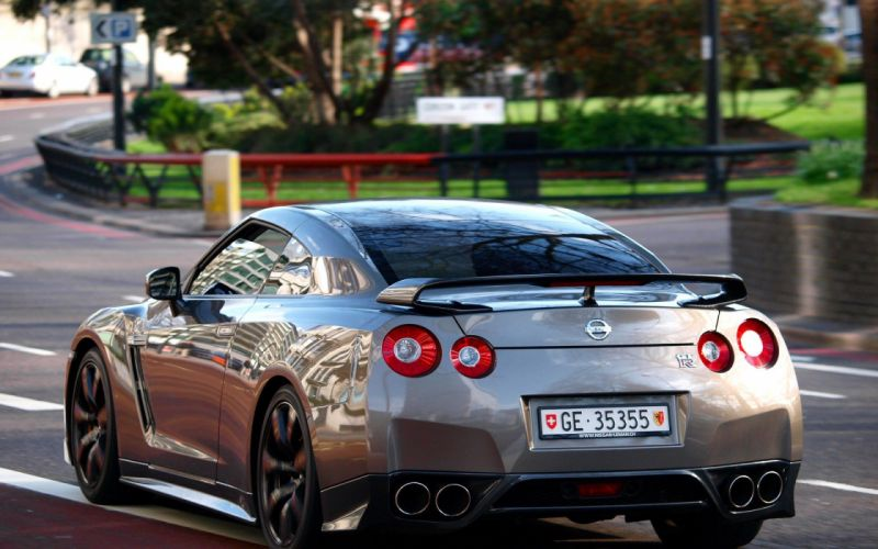 cars JDM Japanese domestic market Nissan GT-R R35 wallpaper