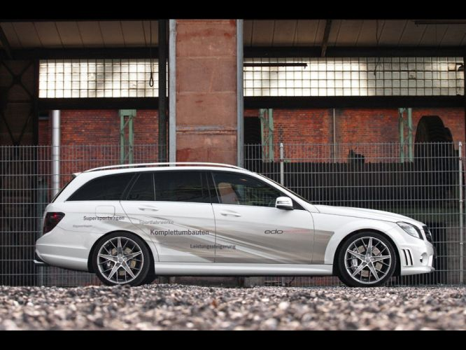 AMG static Edo Competition side view Mercedes-Benz C 63 wallpaper