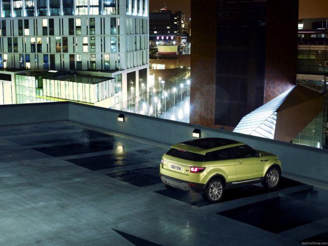 green cars Land Rover Range Rover Range Rover Evoque wallpaper