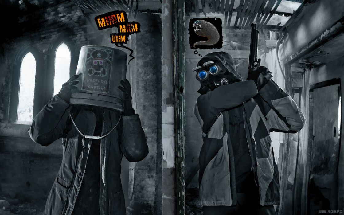 Pilot Romantically Apocalyptic Vitaly S Alexius Zee Captein one Charles Snippy wallpaper
