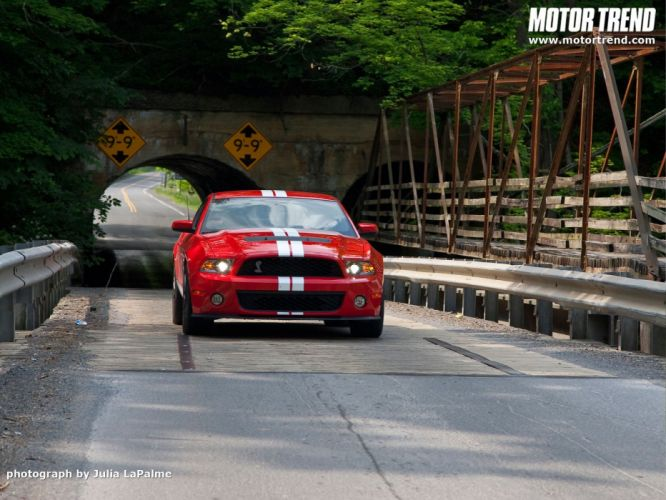 cars front Ford Shelby Shelby GT500 wallpaper