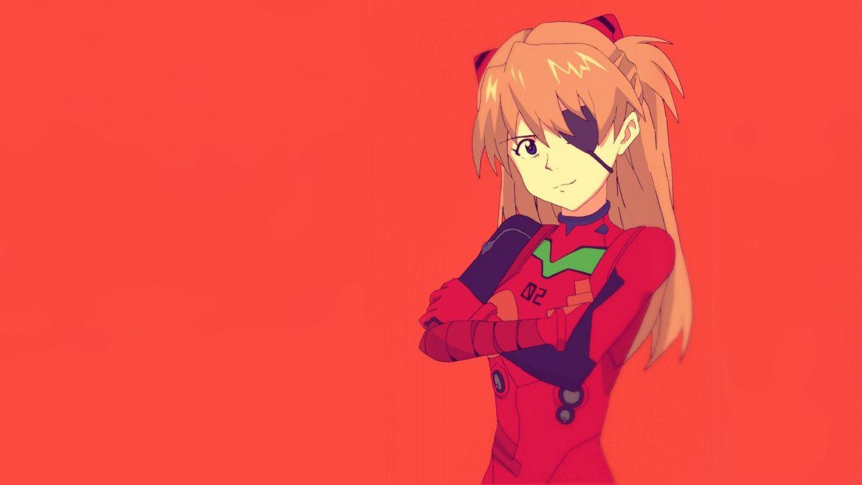 Neon Genesis Evangelion Rebuild of Evangelion Asuka Langley Soryu wallpaper
