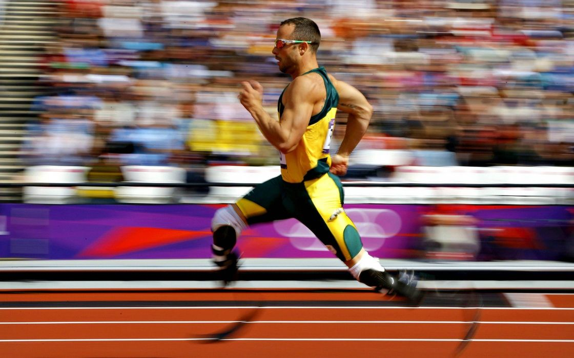 men running inspirational athletes disabled South African races prosthetic murderer Olympics 2012 Oscar Pistorius wallpaper