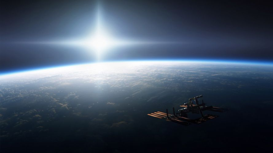 science outer space Earth NASA astronomy astronauts International Space Station skyscapes wallpaper