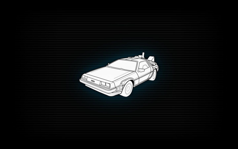 Back To The Future Delorean Dmc 12 Wallpaper 1440x900 259045