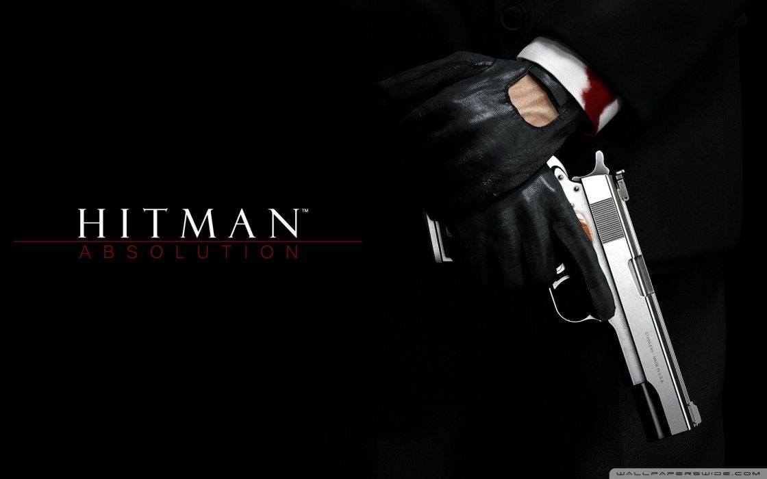 Close Up Video Games Guns Hands Hitman Hitman Absolution Agent 47