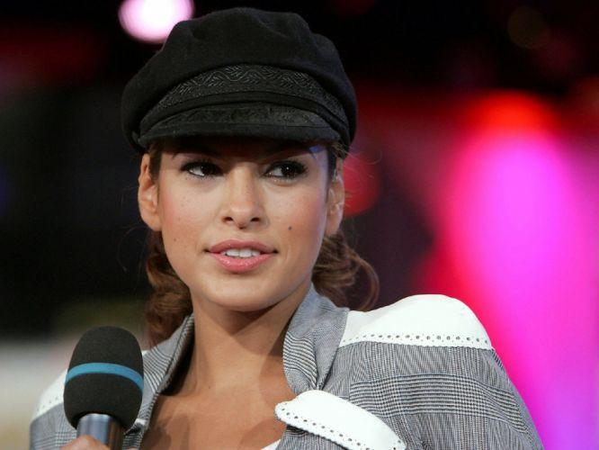 brunettes women actress Eva Mendes celebrity wallpaper
