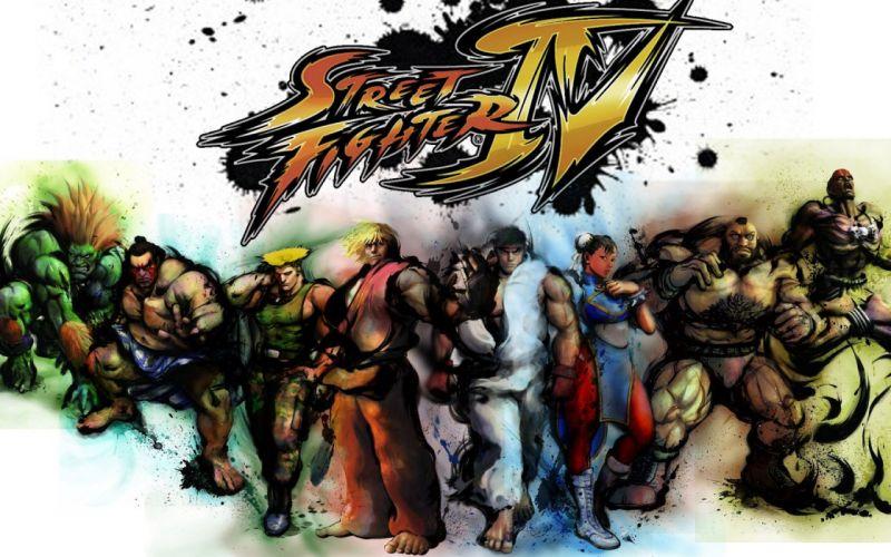 Honda Street Fighter Ryu Street Fighter IV Chun-Li Zangief Blanka Dhalsim Guile Ken Masters wallpaper