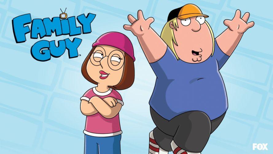 Family Guy Meg Griffin Chris Griffin wallpaper
