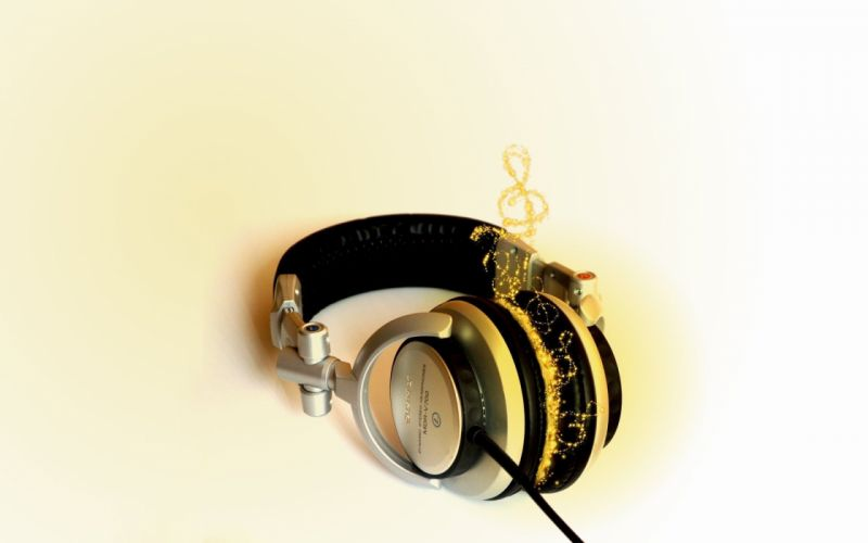 headphones music Sony wallpaper
