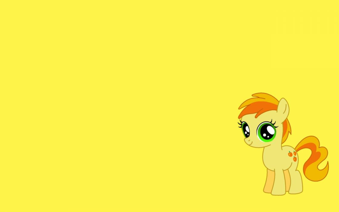 yellow My Little Pony wallpaper