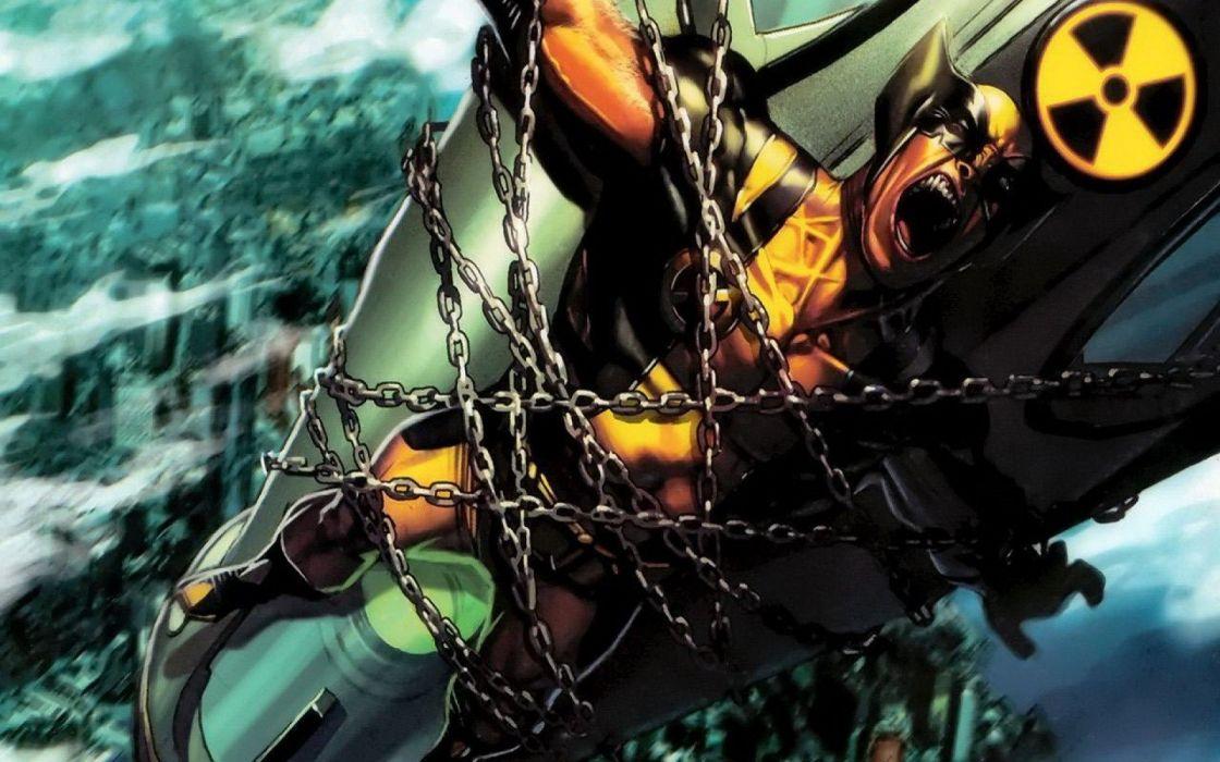 Wolverine men Marvel Comics wallpaper