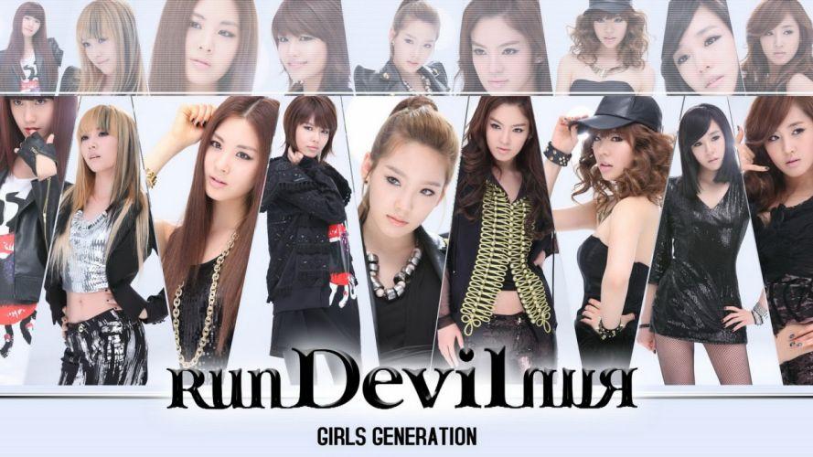 Girls Generation SNSD Asians Korean Korea K-Pop genie wallpaper