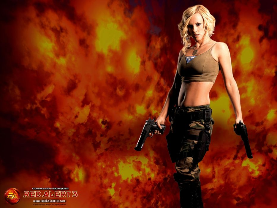 Command And Conquer Jenny Mccarthy Tanya Red Alert 3 wallpaper