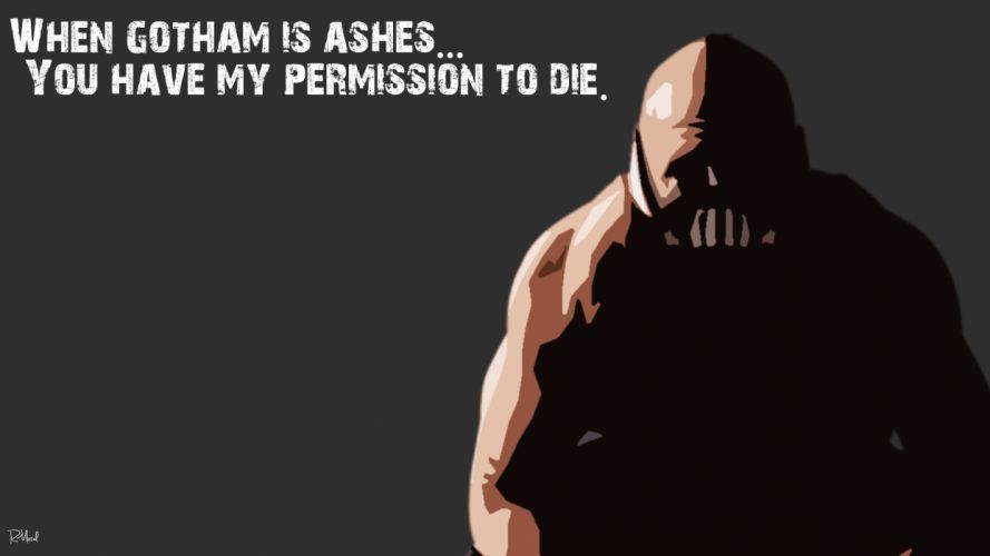quotes Bane Batman The Dark Knight Rises wallpaper