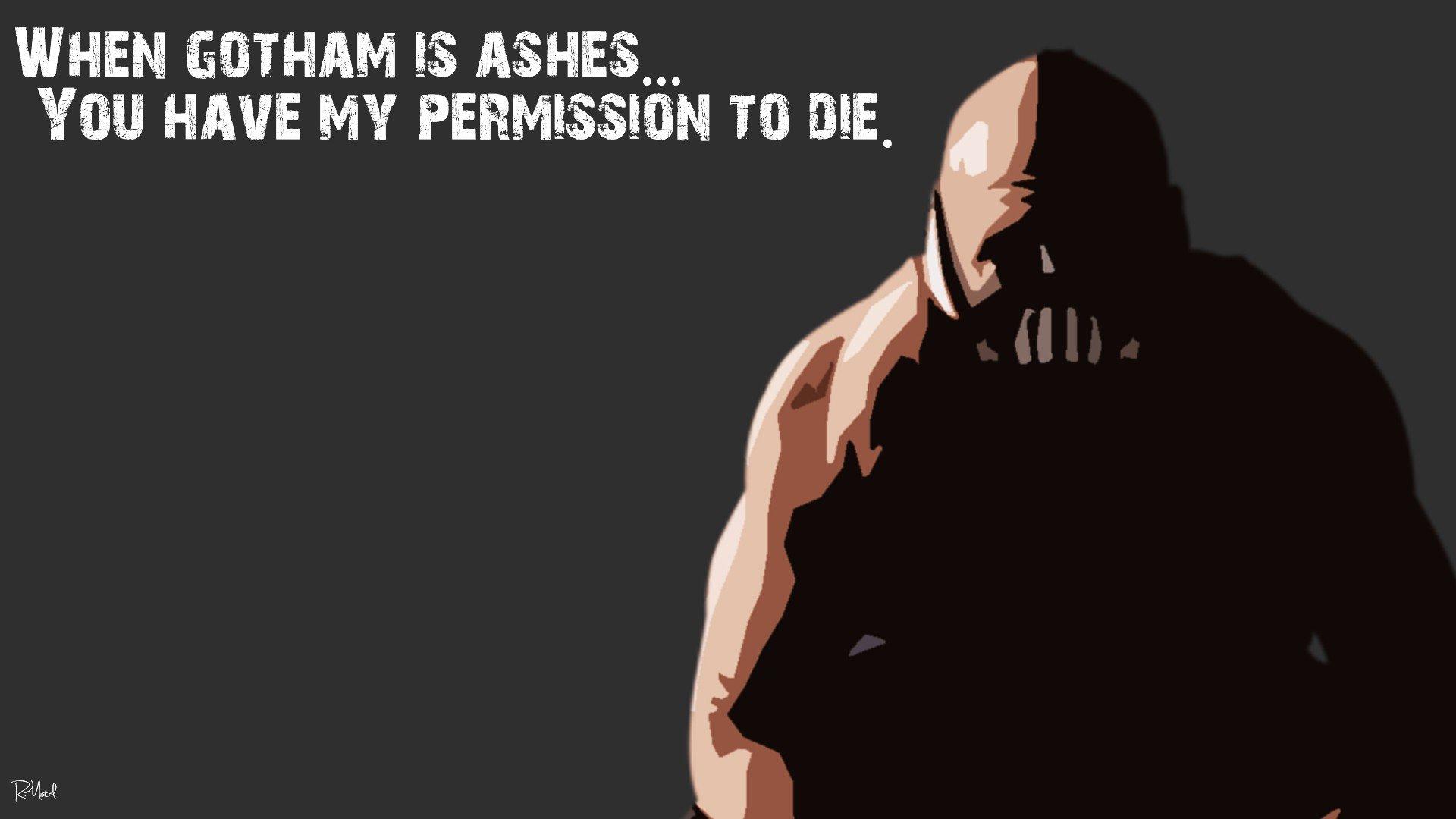 Quotes Bane Batman The...
