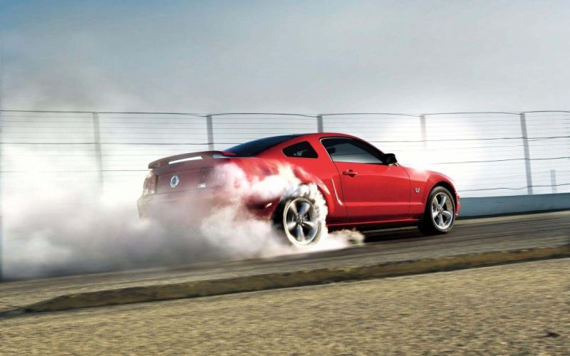 cars vehicles Ford Mustang red cars wallpaper