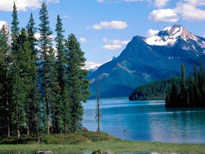 Canada Alberta National Park Jasper National Park wallpaper