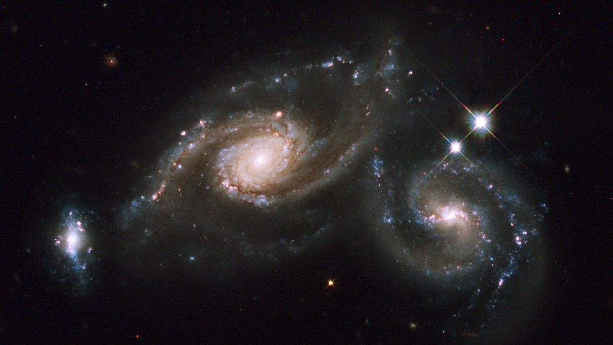 outer space galaxies wallpaper