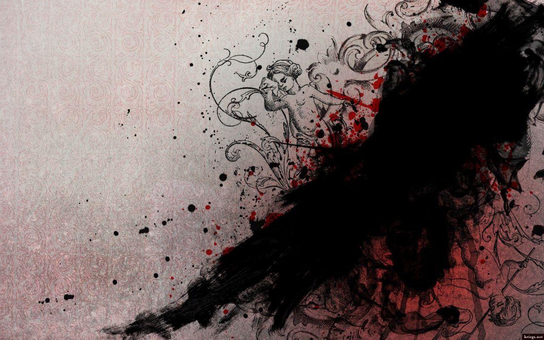 grunge artwork paint splatter wallpaper