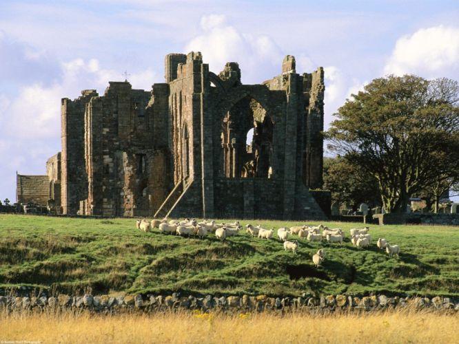 castles United Kingdom Berwick Upon Tweed Northumberland wallpaper