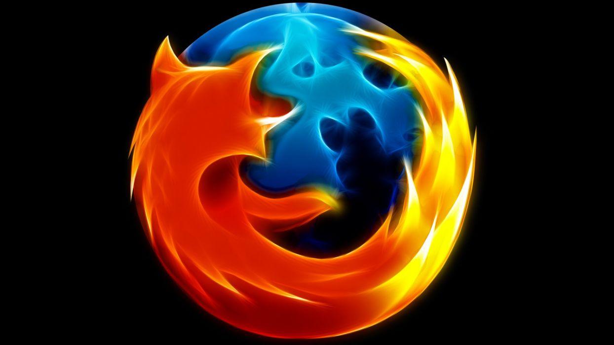 Firefox Mozilla logos wallpaper