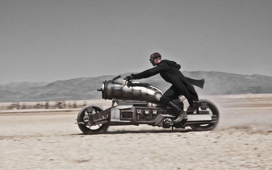 movies wastelands motorbikes Paul Bettany Priest (movie) wallpaper